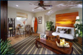 Bonus room at Sea Cove courtyard homes.