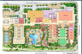 Illustrative site plan.